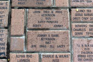 Bricks showing original AARLaw owners